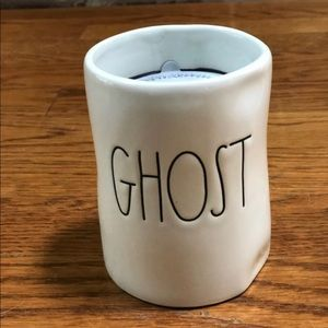 NEW Rae Dunn GHOST Ceramic Candle